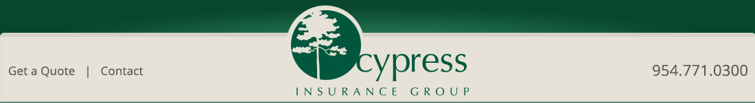 Cypress Insurance Fort Lauderdale 954-771-0300